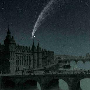 Comète C/1858 L1 Donati - 6