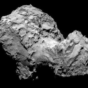 Le noyau de la Comète 67P/Churyumov-Gerasimenko - 1