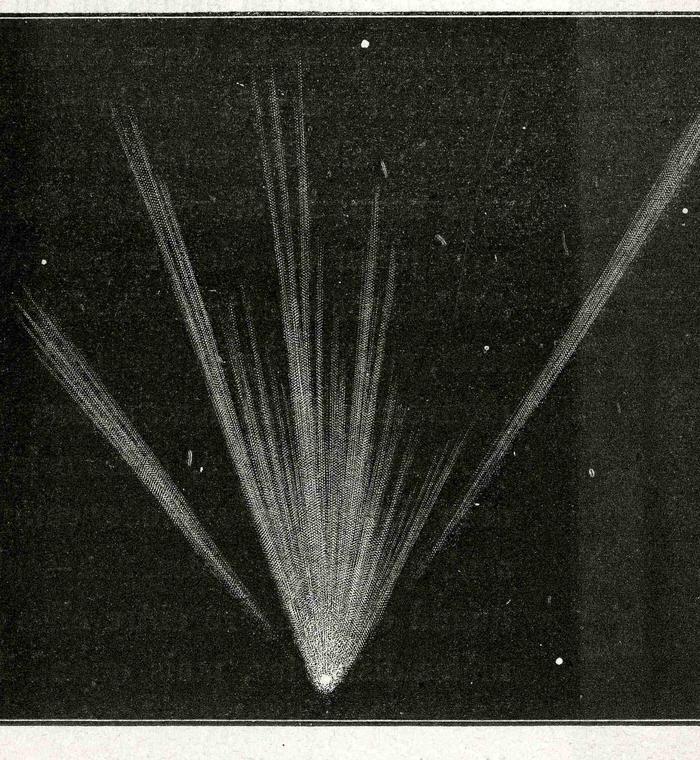 Comète C/1861 J1 Tebbutt