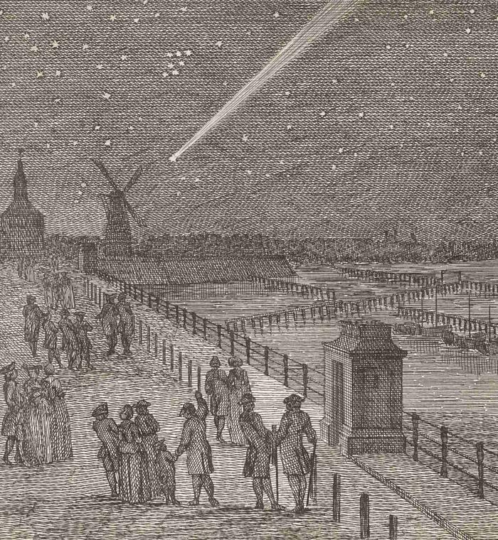 Comète C/1769 P1 Messier - 2