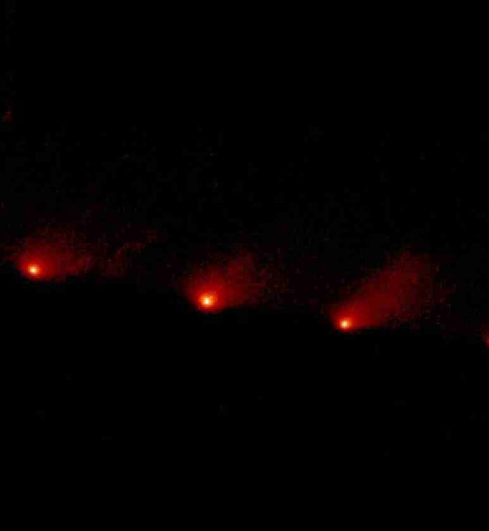Comète D/1993 F2 Shoemaker-Levy 9, familièrement SL9 - 1