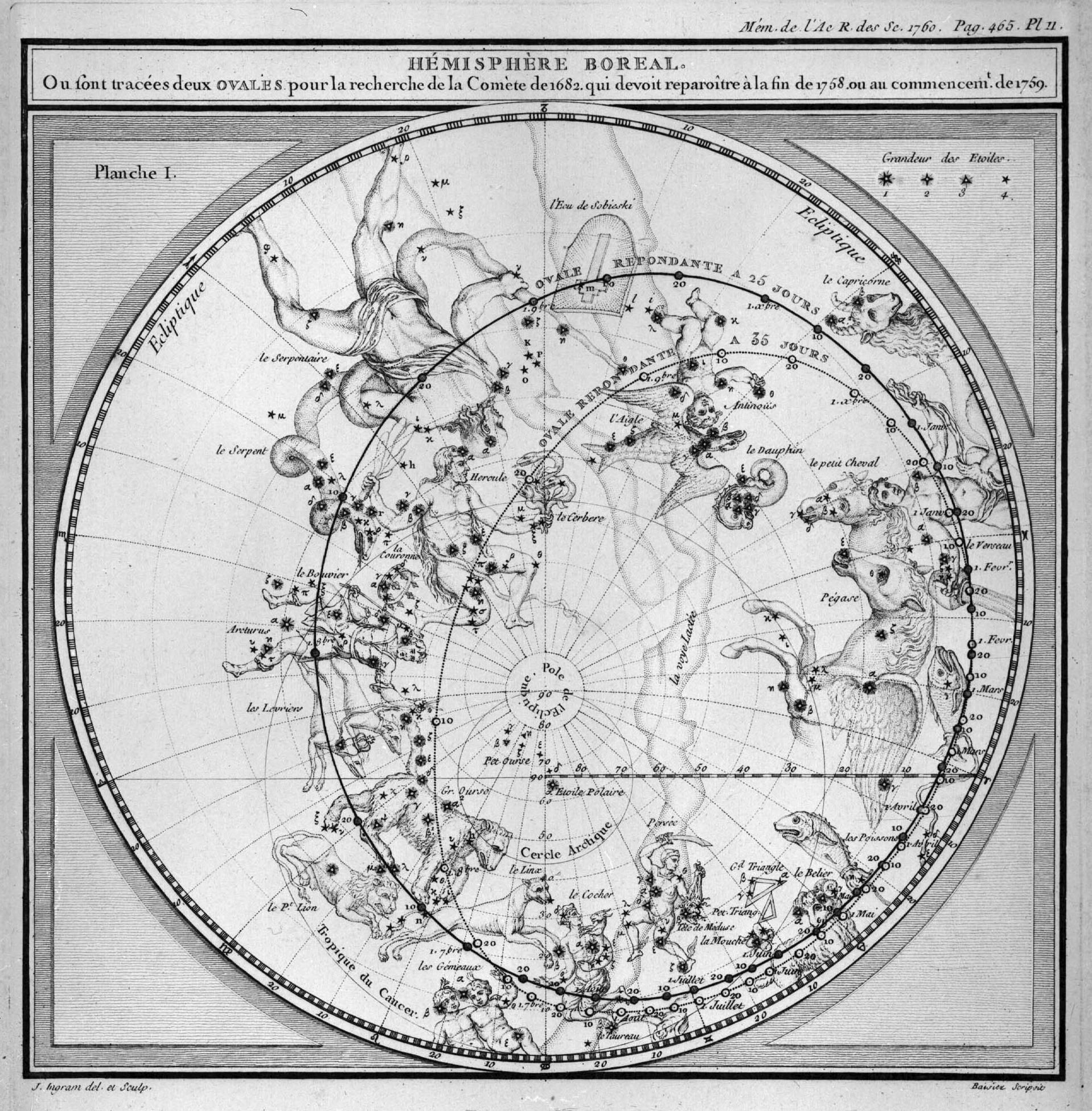 La comète de Halley, la première comète périodique - 5