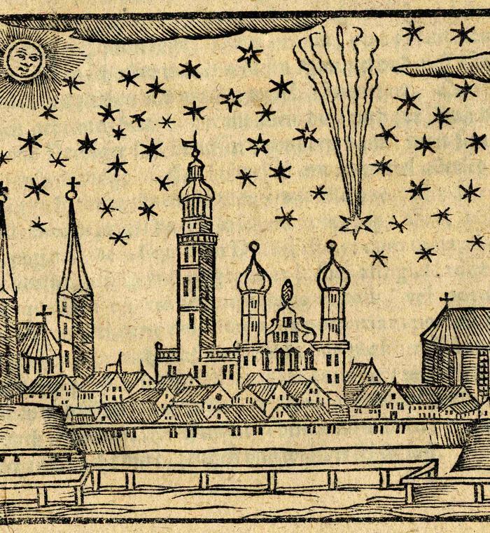 Comète C/1618 W1 - 2