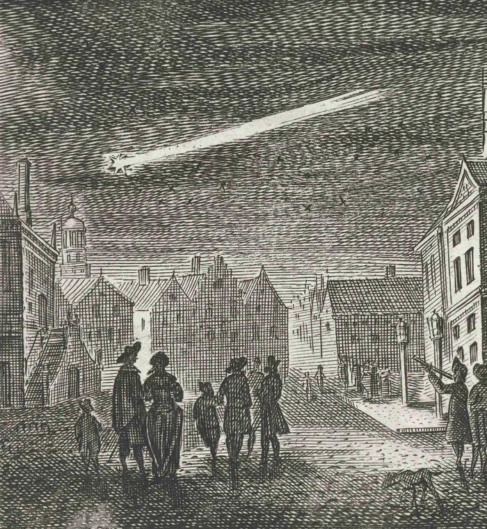 Comète C/1664 W1 - 5