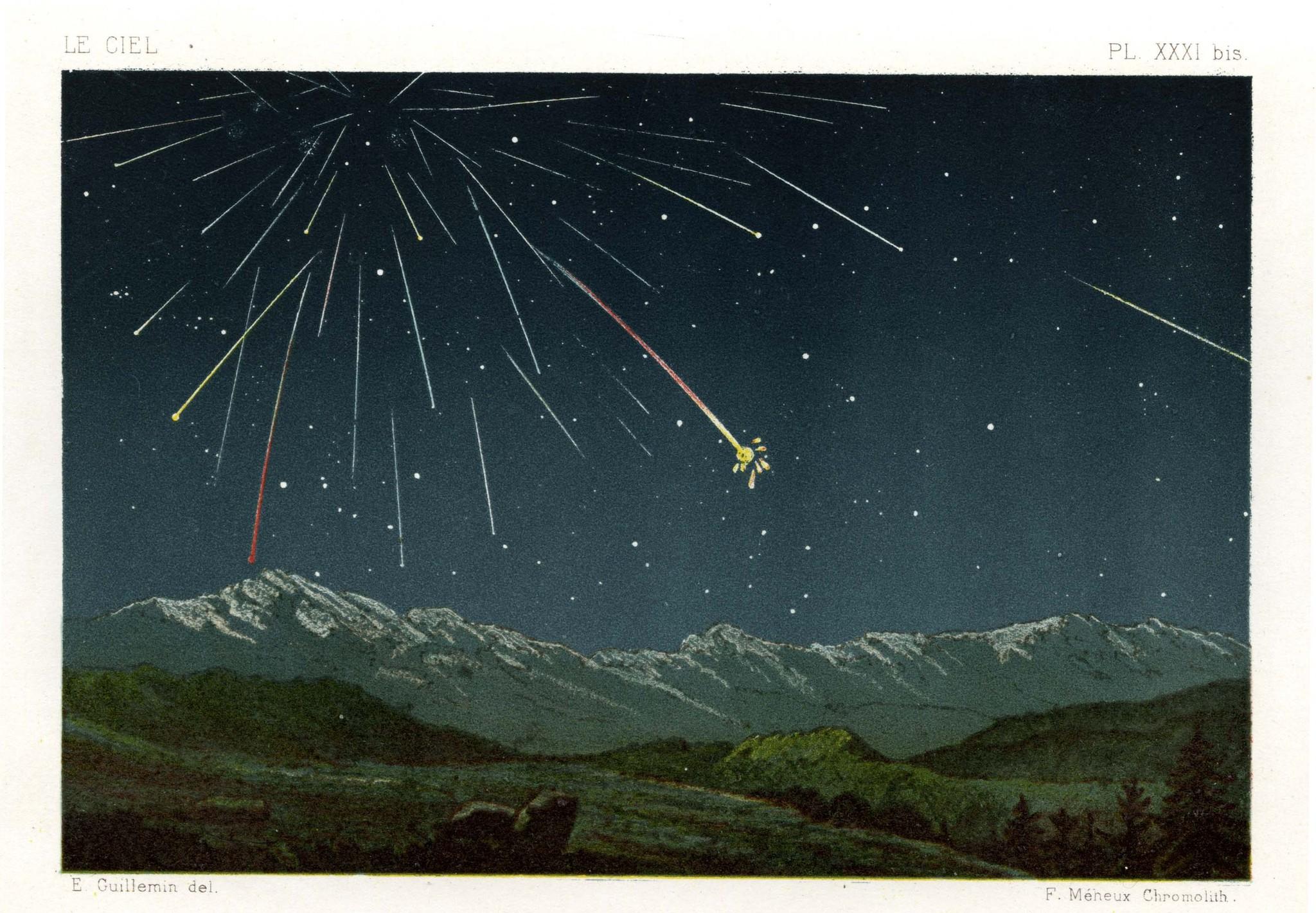 Comètes et étoiles filantes - 4
